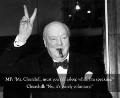Winston Churchill vs. an MP: | The 25 Smartest Comebacks Of All Time