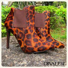 Temos um Divalesi incrível para quem quer arrasar no salto com uma estampa animal :) #DivaShoes