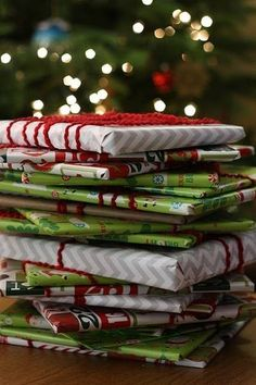 Wrap up twenty-five children's books and put them under the tree with a special blanket next to them. Before bed each evening, your kids choose one book to open and read together...until Christmas.