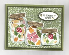 Stampin' Up! Jars of Love