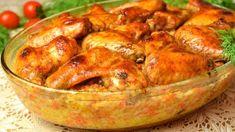 """Maďarské """"studené"""" uhorky bez varenia nálevu, bez sterilizácie: Vlani sme na skúšku spravili len 2 poháre, tento rok už iné nerobím! Russian Recipes, Kefir, Chicken Wings, Poultry, Shrimp, Turkey, Treats, Cooking, Food"""