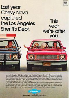 1977 chevy nova advertisements   Image of 1977 Chevrolet Chevy Nova AD: Last Year Chevy Nova captured ...