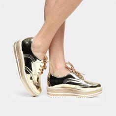 Veja nosso novo produto Tênis Feminino Vizzano 1214100 Dourado Metalizado!  Se gostar f8624bb0a2152