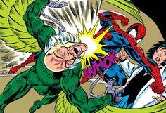 Spider-Man vs. Vulture The Big Hit, Marvel Comics, Marvel Heroes, Man Vs, Spider Verse, Mans World, Rogues, Joker, Comic Books