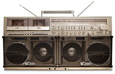 Boombox - The 18 Most Iconic New York Objects | Complex (i.e The boombox dominated musical culture around the world in the '80s and '90s. In Spike Lee's New York-based Do the Right Thing, Radio Raheem carries his boombox everywhere, solidifying the object as a mainstay of urban culture and New York City itself)