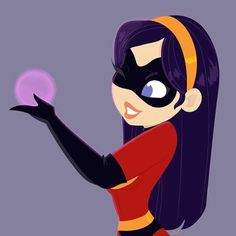 Violet Incredibles fan art