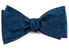 CEREMONY PAISLEY BOW TIES - NAVY | Ties, Bow Ties, and Pocket Squares | The Tie Bar