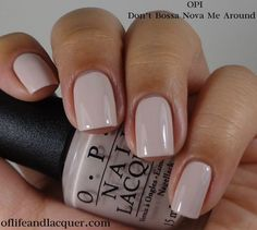 Opi brazil collection spring summer 2014 of life and lacquer fall nail colors for dark skin Uv Gel Nagellack, Nagellack Trends, Opi Nails, Nude Nails, Nail Polishes, Stiletto Nails, Shellac, Acrylic Nails, Manicure Y Pedicure