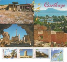 TN-4638 - Arrived: 2017.11.17    ---   Carthage  was the centre or capital city of the ancient Carthaginian civilization, on the eastern side of the Lake of Tunis in what is now the Tunis Governorate in Tunisia.