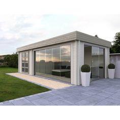 Het lijkt wel een Glazen tuinhuis de Grandcasa moderne blokhutten Elegance Morientes