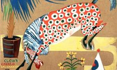 Clown, Horse, Salamandra, 1912 by Amadeo de Souza-Cardoso. Diego Rivera, Horse Posters, Expositions, Oil Painting Reproductions, Outsider Art, Land Art, Horse Art, Animal Paintings, Les Oeuvres