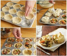 DIY Mini Shepherd's Pot Pies Recipe