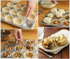DIY Mini Shepherd's Pot Pies Recipe