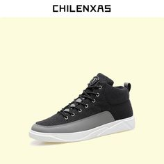 CHILENXAS Autumn Warm Winter Leather Footwear Shoes Men Casual New Fashion Ankle boots Breathable Light Hard-wearing Anti-Odor #Affiliate