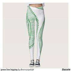 28bea1b193 green line legging Custom Leggings, Printed Leggings, Yoga Leggings, Yoga  Pants, Workout