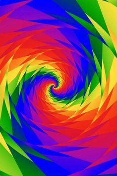 Love the colours! Happy Colors, True Colors, Vibrant Colors, Colours, Rainbow Wallpaper, Colorful Wallpaper, World Of Color, Color Of Life, Over The Rainbow