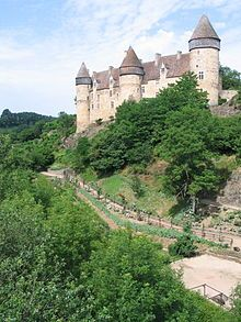 Château de Culan is a French medieval castle located in the commune of Culan in the Cher département.