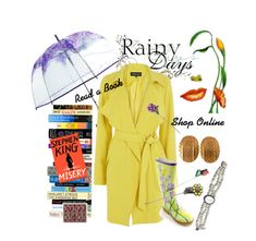 """What to do on a Rainy Day?"" by stuff4uand4u ❤ liked on Polyvore featuring Vera Bradley, Warehouse, Givenchy, Judith Jack, vintage, stuff4uand4u and stuffalicious"