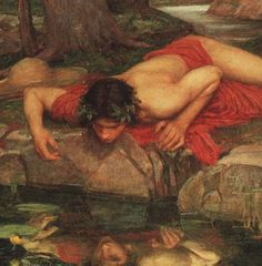 Narcissis - in Greek mythology - fell in love with his own image