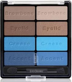 Black Radiance Eye Appeal Shadow Collection, Island Blues, 0.3 Ounce