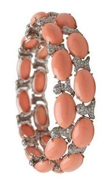 A Coral and Diamond by Verdura