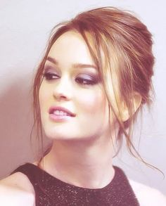 Leighton Meester. I miss Gossip Girl! I miss the drama, the clothes, Chuck Bass. I miss it so.