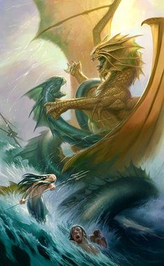 15 amazing mythical creature illustrations of ancient