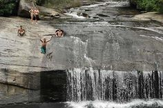 4. Drift Falls past Turtleback Falls