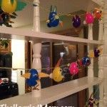 Get Hopping!  Fun & Easy Easter Egg Bunny/Chick Garland Kid Craft