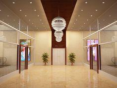 entrance lobby/elevator background ideas