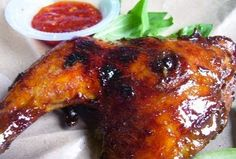 Resep Ayam Bakar Kecap Madu Bumbu Rujak Yummy http://tipsresepmasakanku.blogspot.co.id/2016/09/resep-ayam-bakar-kecap-madu-bumbu-rujak.html