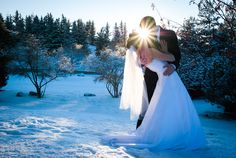 Winter Wedding Photography by Cocktail Photography