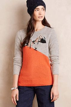 Downhill Pullover - anthropologie.com