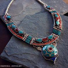 Icarus Tibetan Necklace