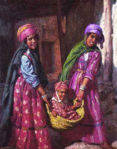 Djillali Mehri collection d'art page la famille