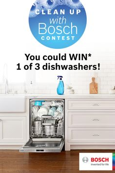 I just entered the Clean Up with Bosch Contest!