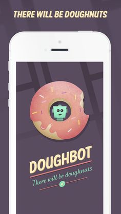DOUGHBOT is the revolutionary new App that helps you find the nearest Doughnut Shops anywhere you happen to be! Never be lost without Doughnuts again….ever. http://www.meetdoughbot.com/ #titanium