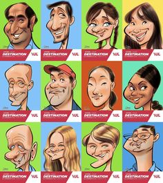 Animation caricatures en direct à l'aéroport de Montréal. Caricatures, Caricature Drawing, Cartoon People, Live Events, Art Drawings, Sketch, Animation, Comics, Fictional Characters