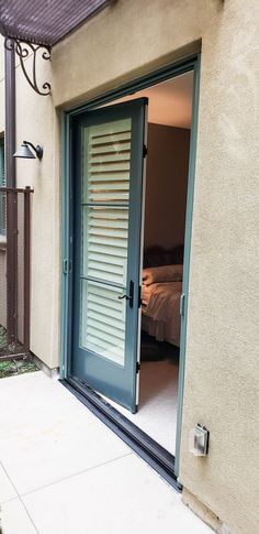 Ivy Green Double Door Retractable Screen Doors newly installed in Pasadena, California! Looking to purchase Retractable Screens for your own home? Visit www.chiproducts.com to see the different features we offer for your customization, or call (866) 567-0400 for a free estimate! We are proud to serve LA County, Orange County, and the Inland Empire with quality improvement products. Retractable Screen Door, Pull Bar, Pasadena California, Screen Doors, Double Doors, Orange County, French Doors, Ivy, Empire