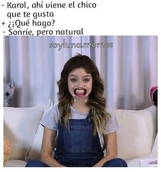 No pude evitarlo . Karol; te amamos ❤❤❤ Por favor vayan a ver el video, esta - l #soyluna #soylunamemes