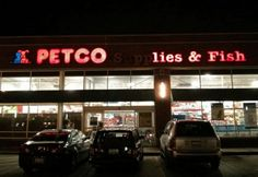 Petco is a dark and deceptive place… and it also has fish.