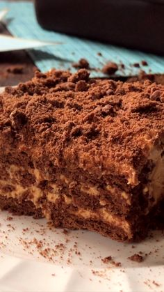 Cake Courgette-Chocolat - Welcome OyunRet Delicious Cake Recipes, Easy Cake Recipes, Yummy Cakes, Sweet Recipes, Cookie Recipes, Dessert Recipes, Molasses Cake, Halva Recipe, Comfort Food