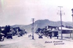 Flashback Friday  Angus Avenue Kandos   Who can tell us what year this was taken?