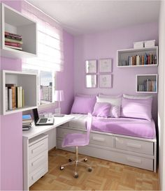 20 Best Bedroom ideas for small rooms for teens for girls images ...