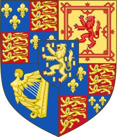 Royal Arms of England (1694-1702).svg 1694–1702 Wikimedia Commons has media related to Coats of arms of King William III of Great Britain. After the death of Queen Mary II, King William III reigned alone, and used his arms only.[6]