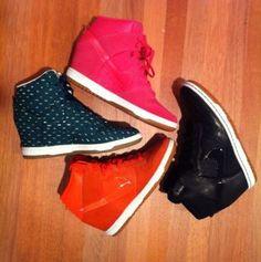 Colour Burst! Nike Sky HI Sneaker