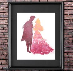 Once Upon a Dream 8x10 Poster - DIGITAL DOWNLOAD / Instant Download