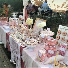 The sweets were endless on this gorgeous Dessert table for a baby girl's baptism. Baptism Dessert Table, Baptism Desserts, Dessert Tables, Baby Girl Baptism, Cookie Jars, Sweets, Table Decorations, Photo And Video, Instagram