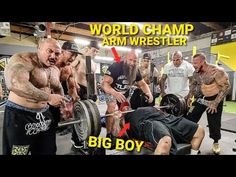 """WHO'S STRONGER? """"WORLD CHAMPION ARM WRESTLER"""" or BIG BOY From STRENGTH CARTEL - YouTube Big Boys, Champs, Strength, Arms, Baseball Cards, World, Youtube, The World, Youtubers"""