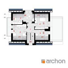 Dom w amarylisach (P) Floor Plans, Floor Plan Drawing, House Floor Plans